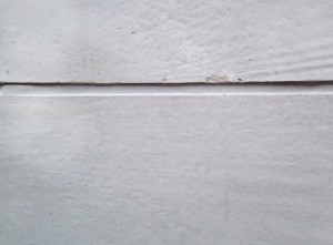 Freshly maintained Joint Sealant between two precast panels.